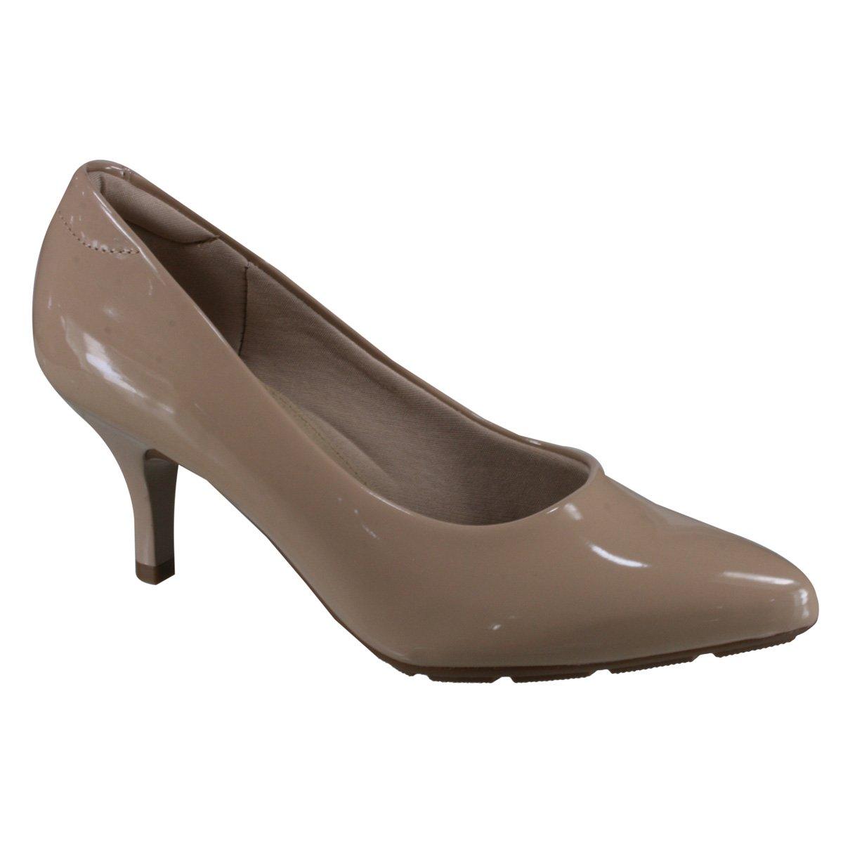 5be8f2179 Sapato Feminino Modare Ultraconforto 7318.600 13488 29452 - Bege ...