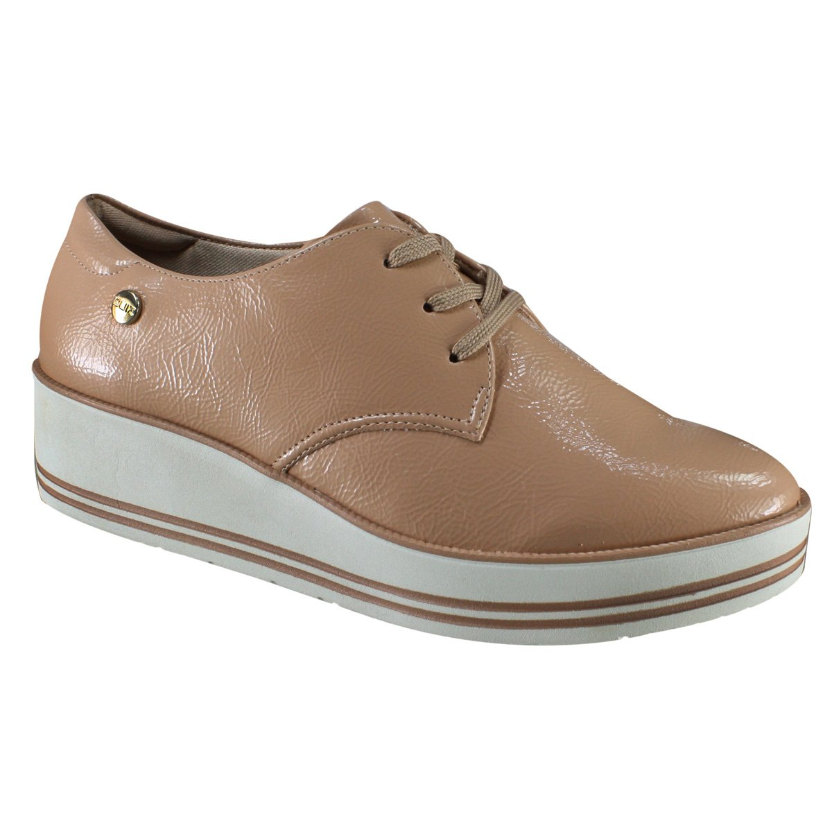 98874ee377 Sapato Feminino Quiz Oxford 68-58216 - Antique (Verniz Show ...