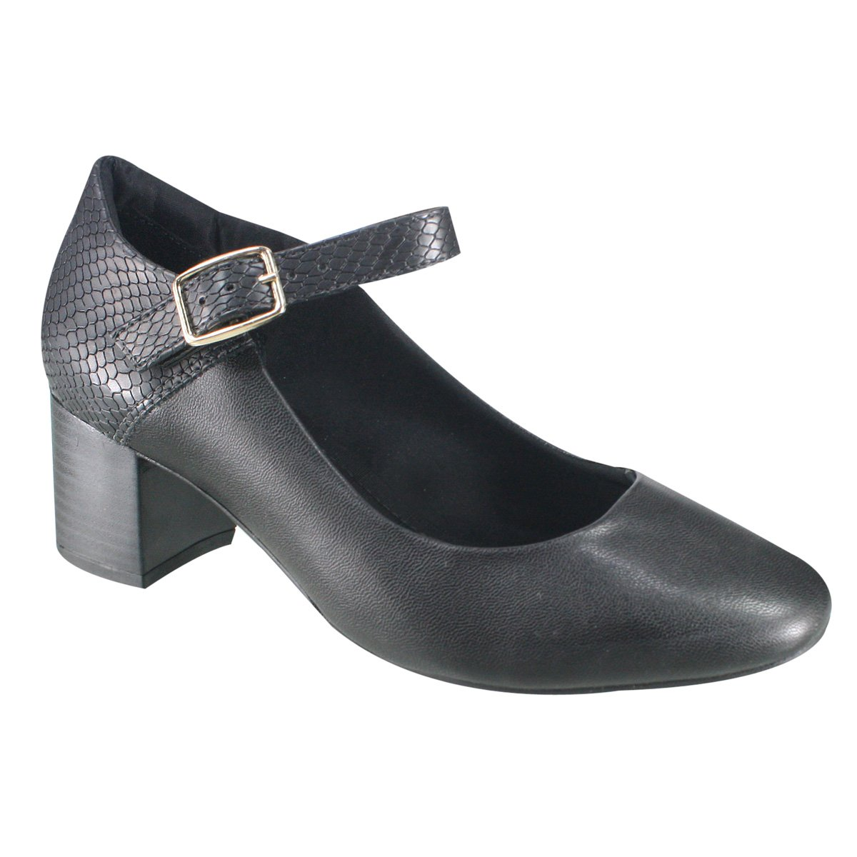 798c9db0f7 Sapato Feminino Ramarim Total Comfort 17-97203 000011 - Preto (Napa ...
