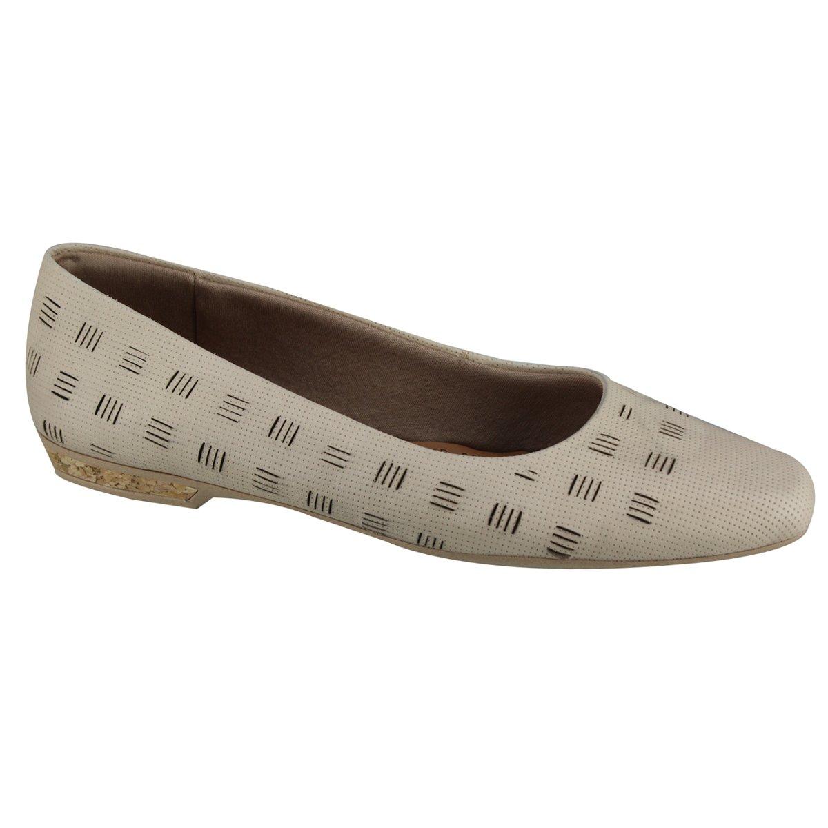 28ed46d9fa Sapato Feminino Usaflex AA1503 7 - Blush (Napa Nobre) - Calçados ...
