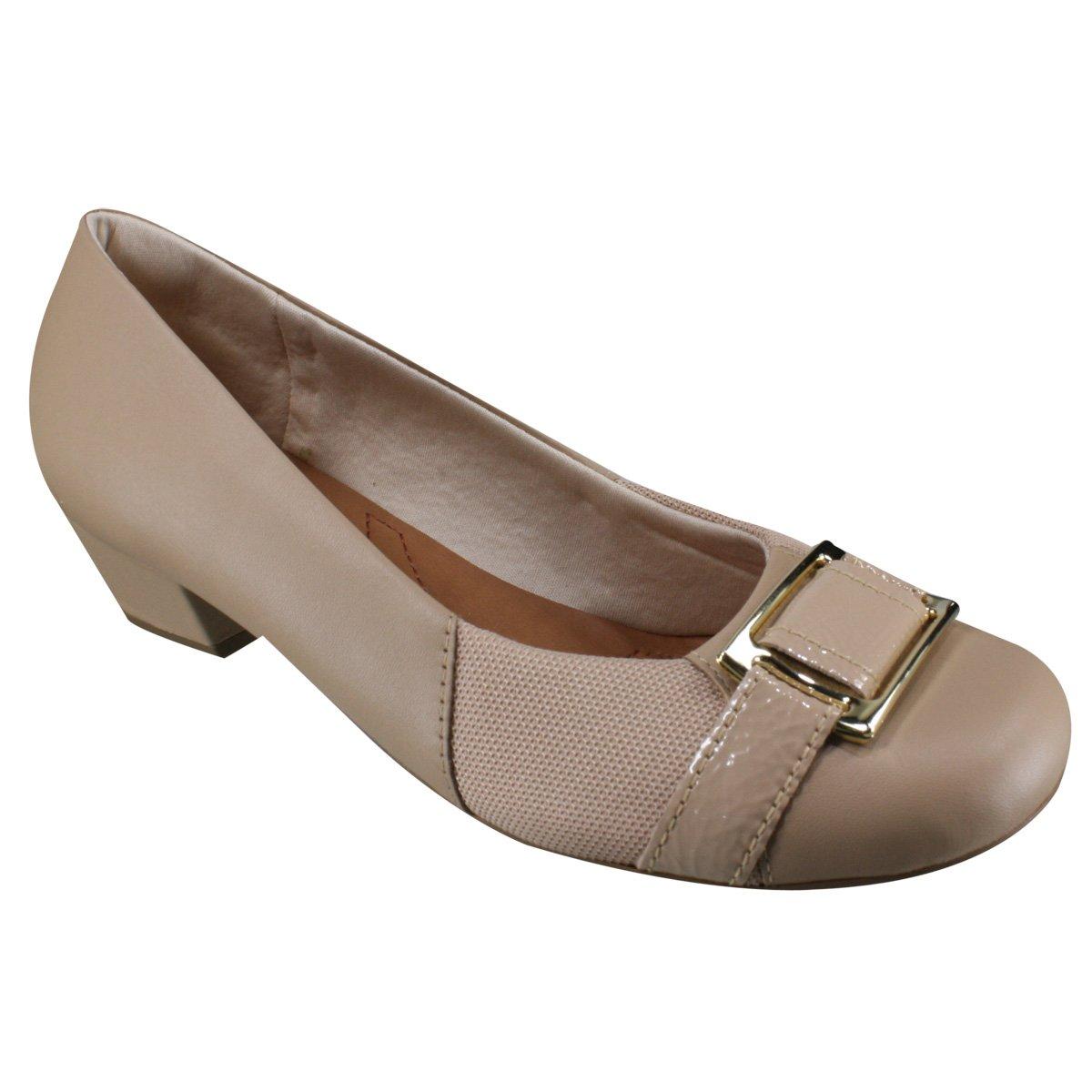 3560fb694 Sapato Feminino Usaflex Care Joanetes AA1202 3 - Blush (Soft Slim ...