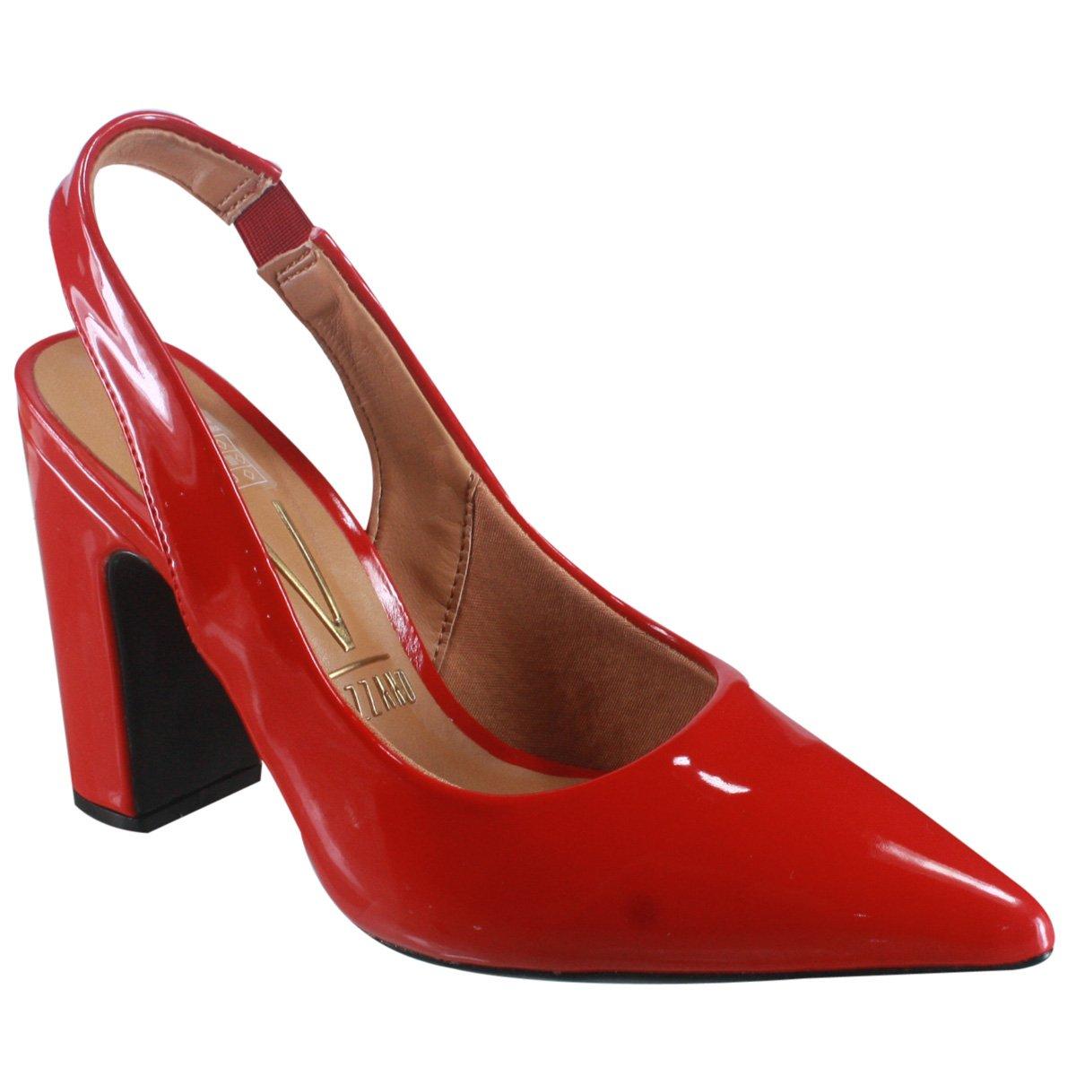 221d117a2 Sapato Feminino Vizzano 1285.103 13488 46175 Vermelho (Verniz Premium)