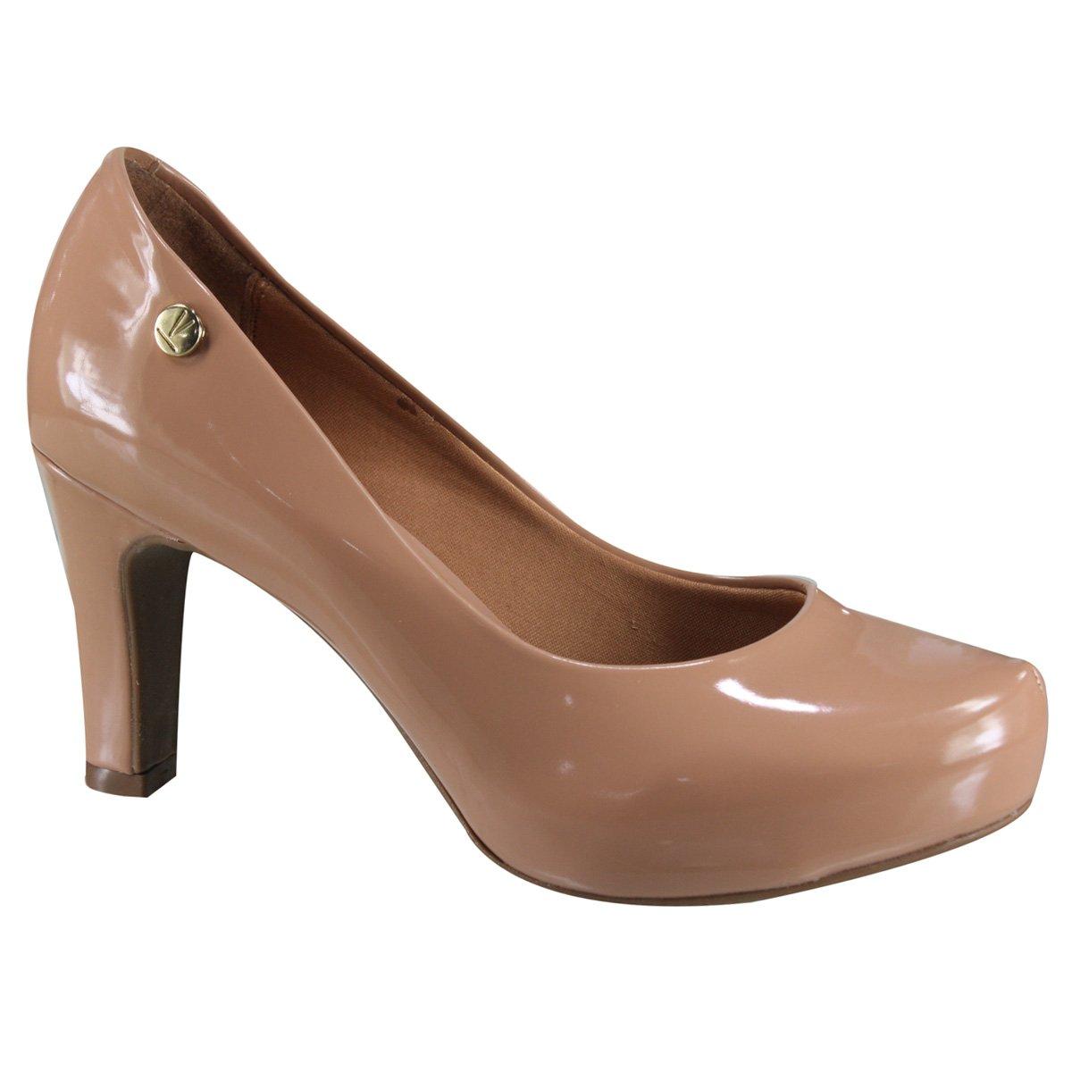 ffbb4fc8e Sapato Feminino Vizzano 1840.101 13488 52531 - Nude (Verniz Premium ...