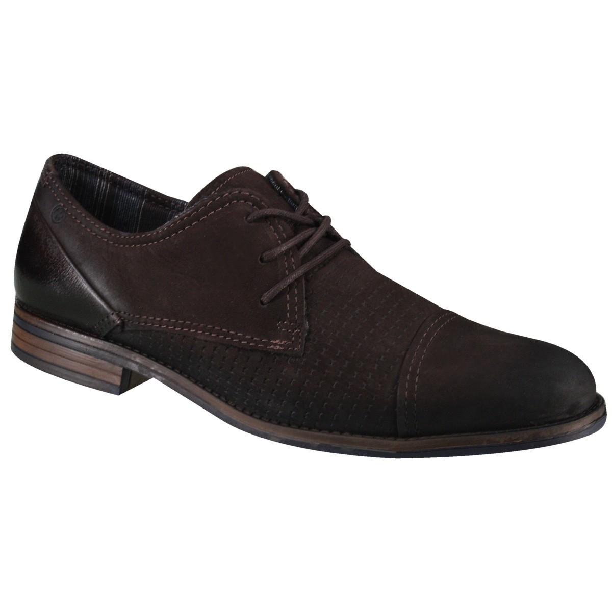 2e06131b29 Sapato Masculino Pegada 124503-08 - Brown (Nobuck Oil) - Calçados ...