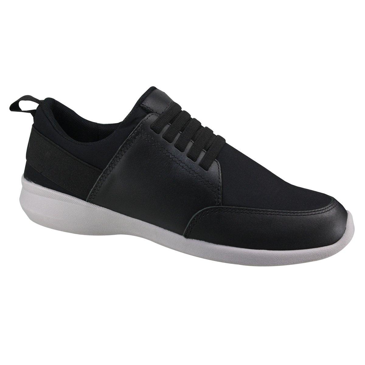 7b7a55935f Sapato Masculino Usaflex Unique Experience Y6102DB 50 - Preto ...