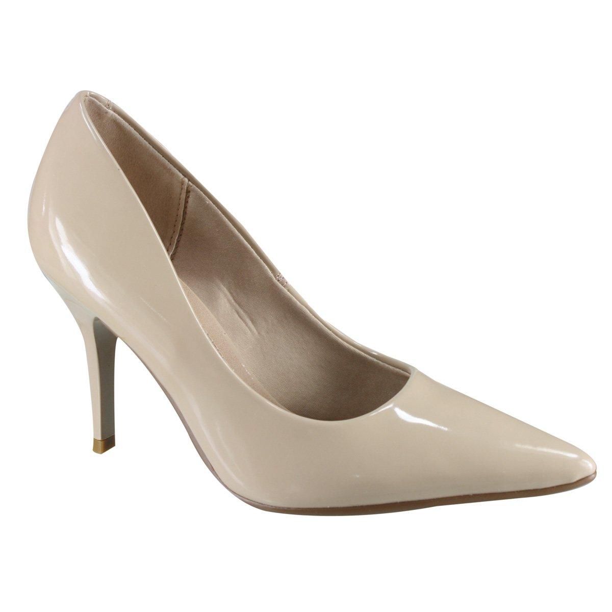 390a33b0e Passe o mouse na imagem para ampliar Ampliar imagem. Sapato Scarpin Beira  Rio Conforto ...