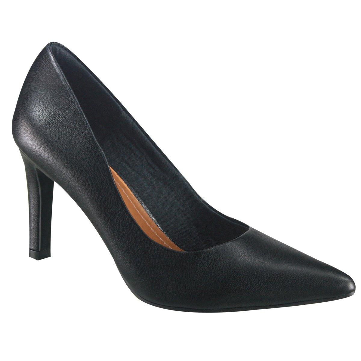 ed57a2862 Sapato Scarpin Usaflex W0201 26 - Preto (Caprina) - Calçados Online ...