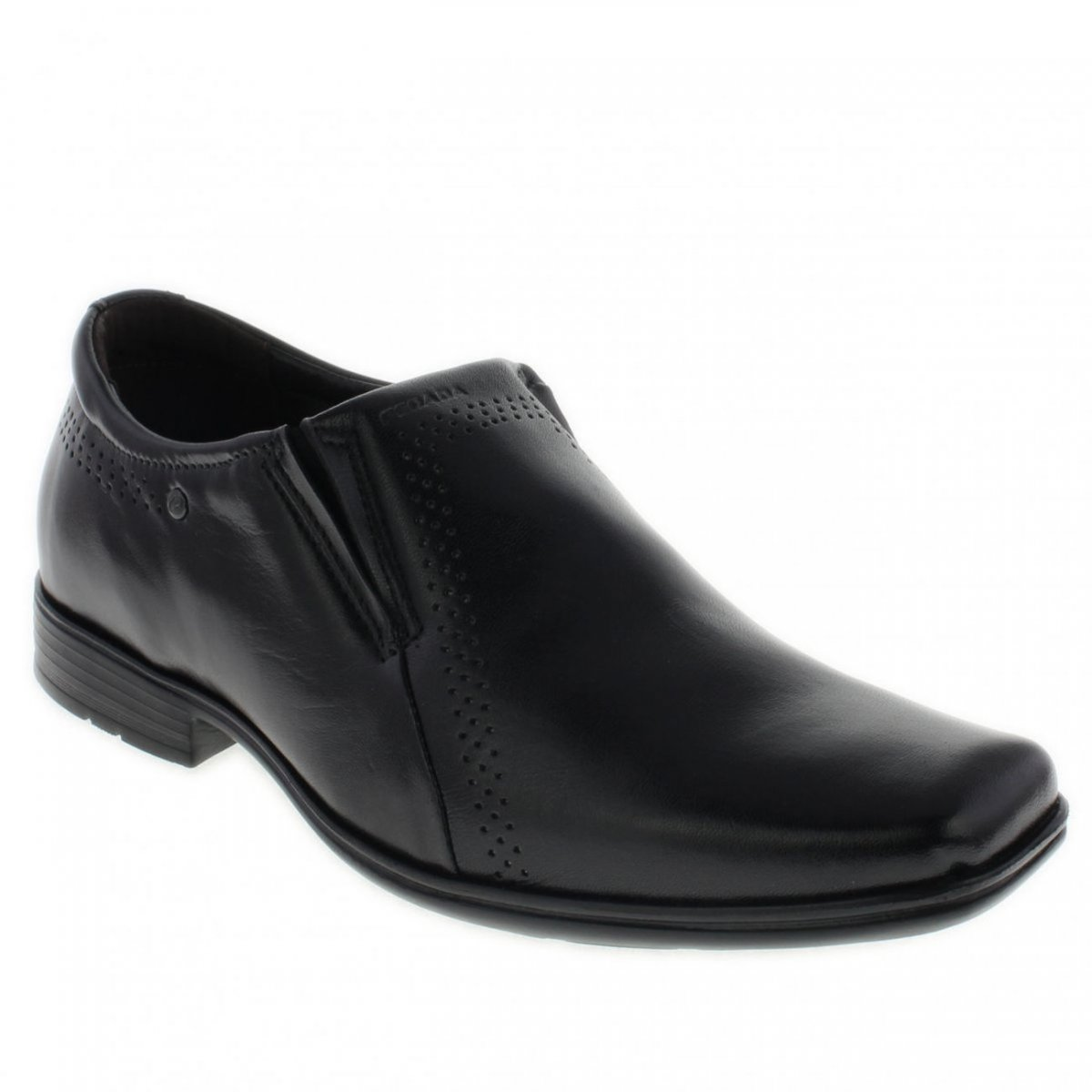 c5c02d7aa41 Sapato Social Pegada Levitech 122314-01 - Preto (Mestiço) - Calçados ...