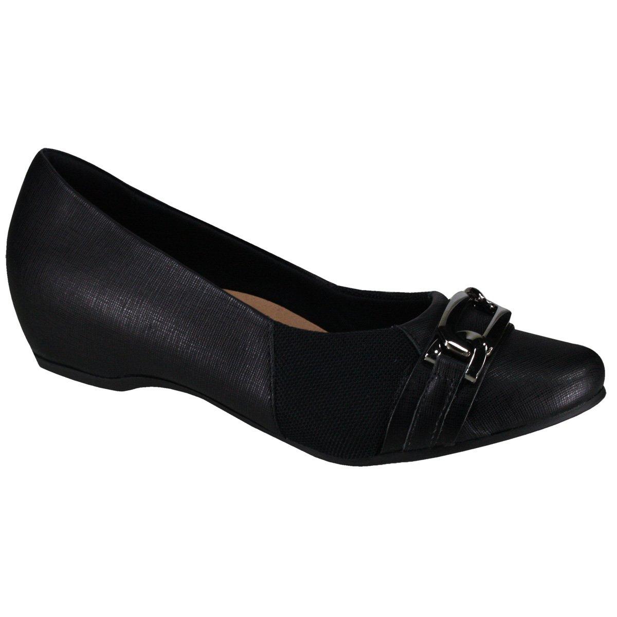 9f1a6e3bd Sapato Usaflex Care Joanetes N2266 50 Preto Onix