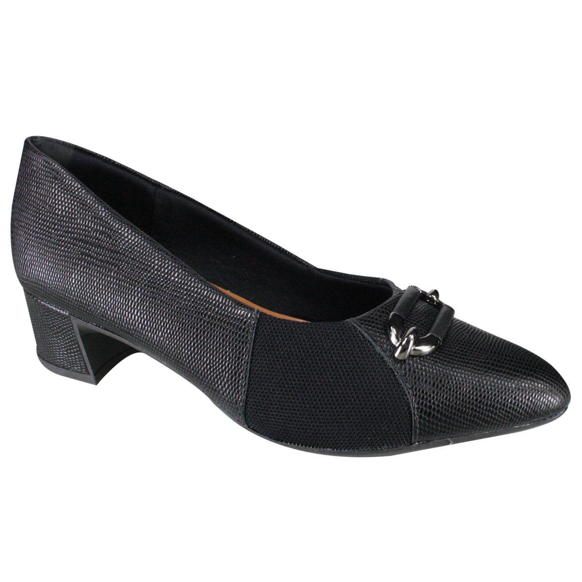 c0bbbb7f4 Sapato Usaflex Care Joanetes Y7306/50 - Preto (Caprina) - Calçados ...