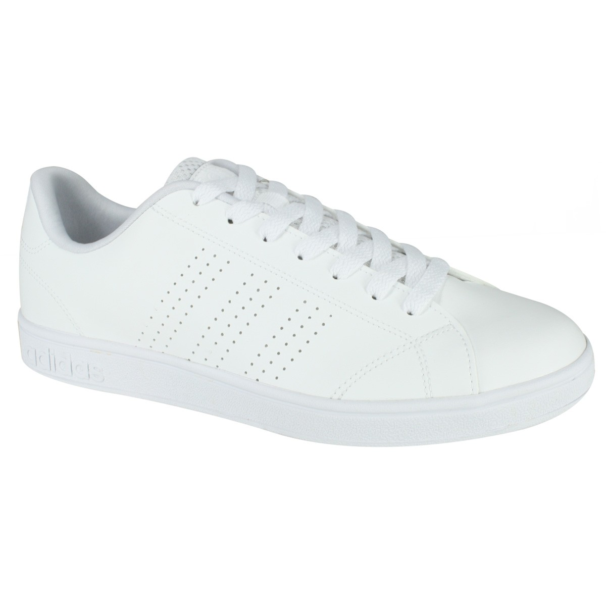 0f6fe7ab4 Tênis Adidas Advantage Clean VS B74685 - Branco - Calçados Online ...