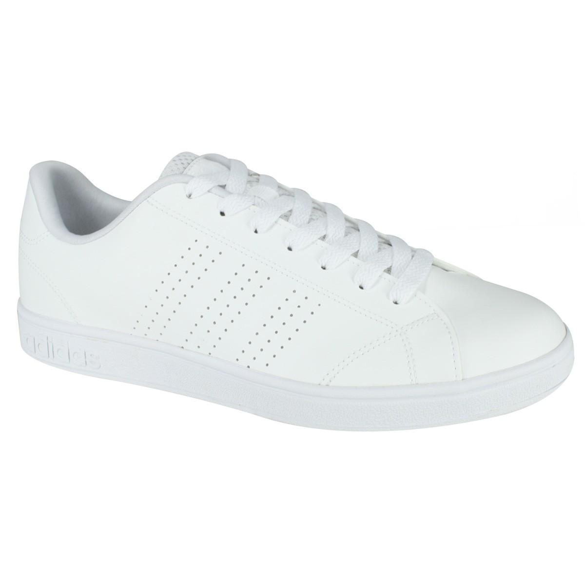 c80432862563e Tênis Adidas Advantage Clean VS B74685 - Branco - Calçados Online ...
