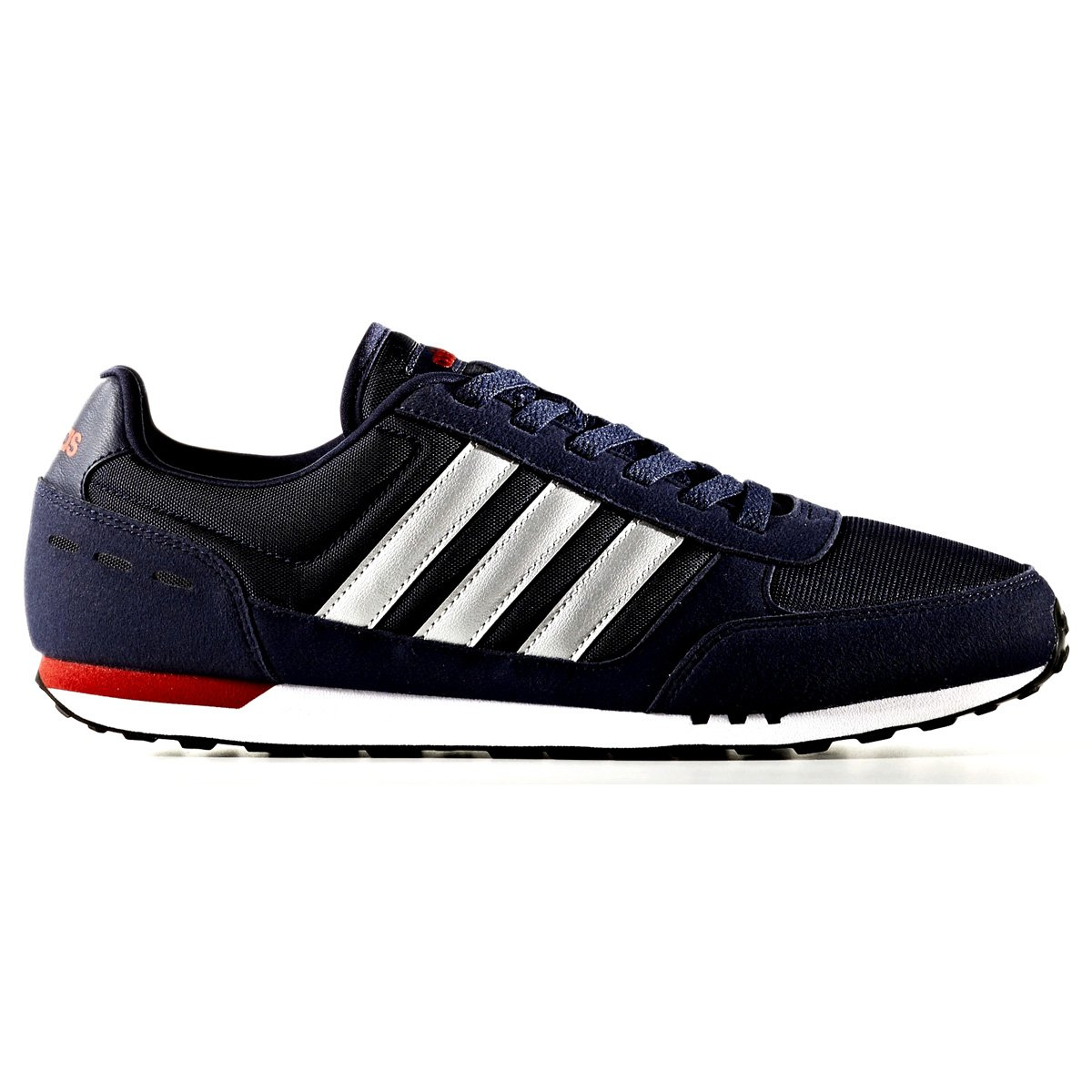 b7845535f1a Tênis Adidas Neo City Racer BB9684 - Marinho Prata - Calçados Online ...