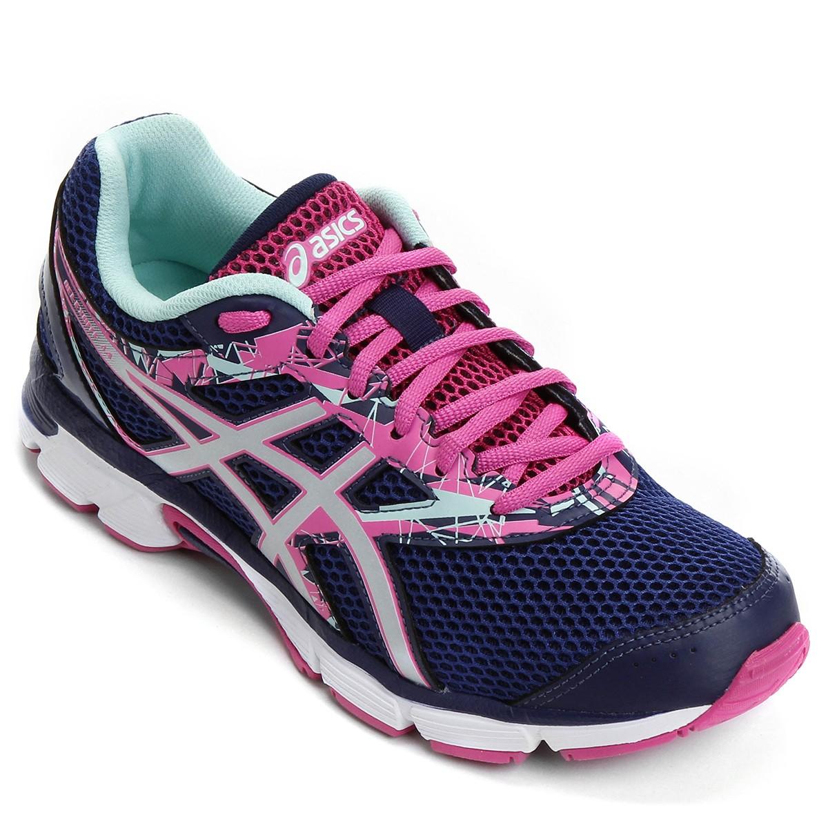 Tênis Asics Gel-Excite 4 A T070A-4293 - Marinho Pink - Calçados ... bc90b08640535