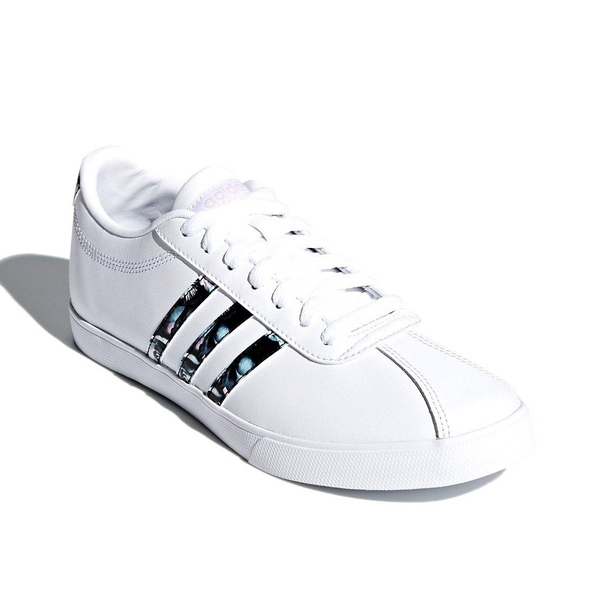 e2a7f2324e1 Tênis Feminino Adidas Courtset W DB1373 - Branco - Calçados Online ...