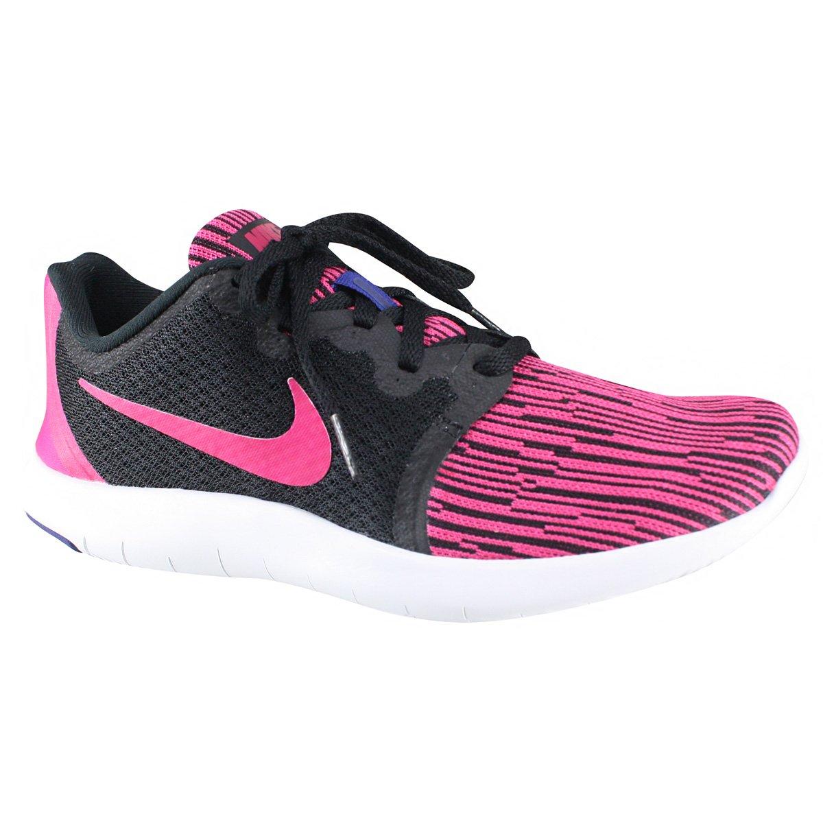 96a6a45d91 Tênis Feminino Nike Flex Contact 2 AA7409-003 - Preto Rosa ...