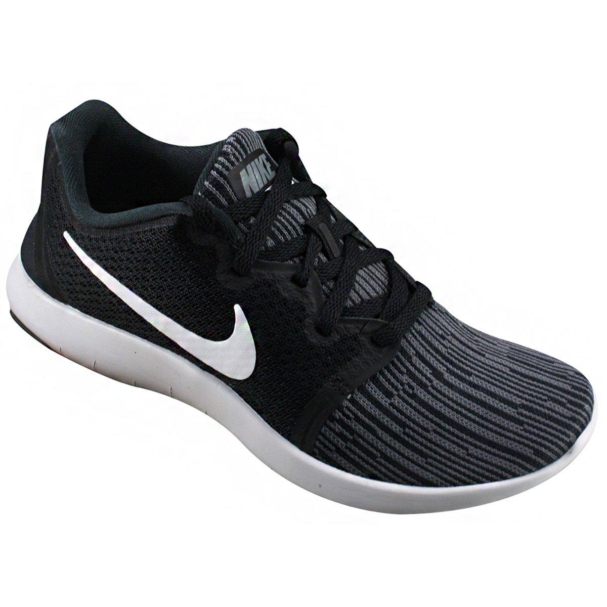7275cbdb88 Tênis Feminino Nike Flex Contact 2 AA7409-010 - Preto Branco ...