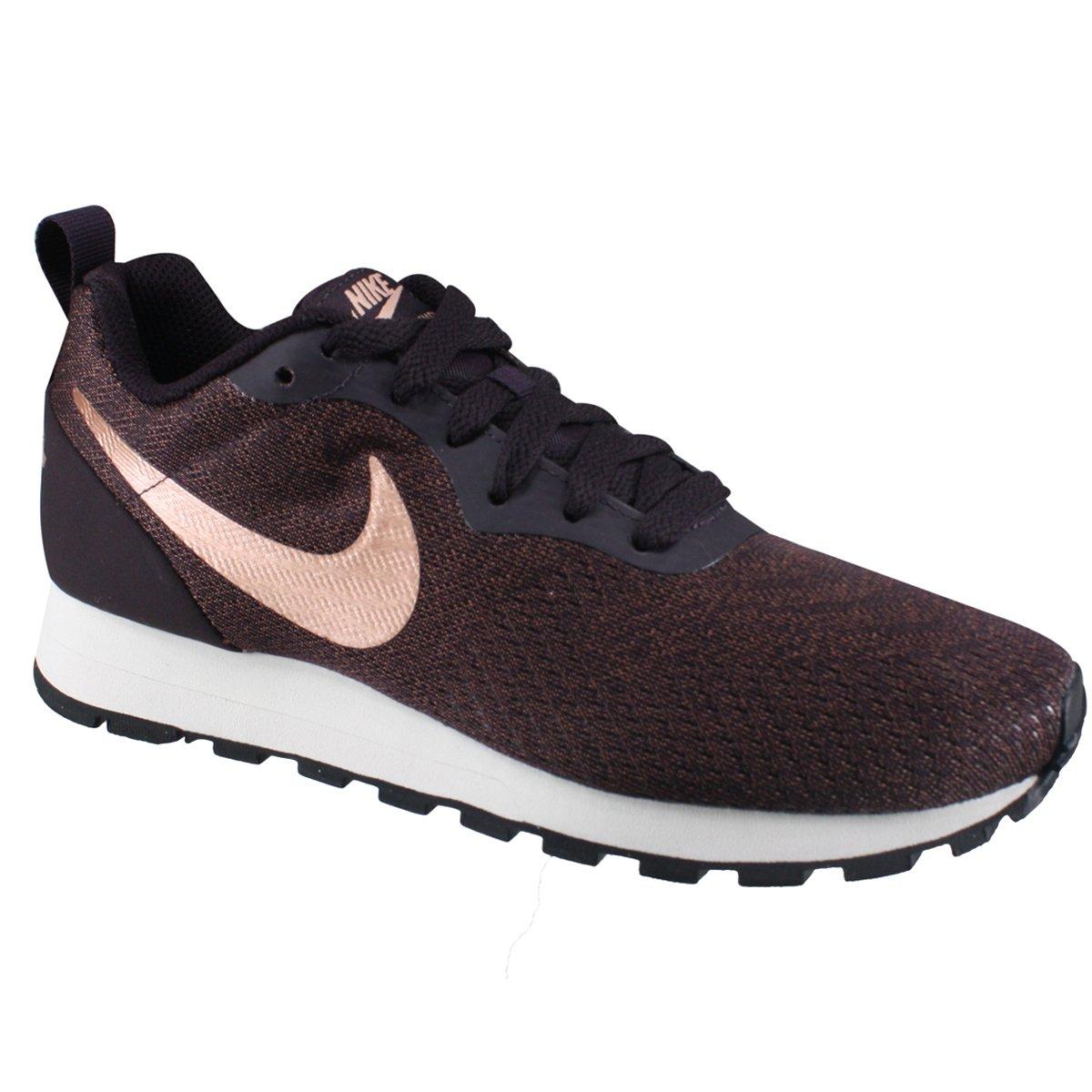 Tênis Feminino Nike MD Runner 2 916797-602 - Bordo Bronze - Calçados ... 69b219206e435