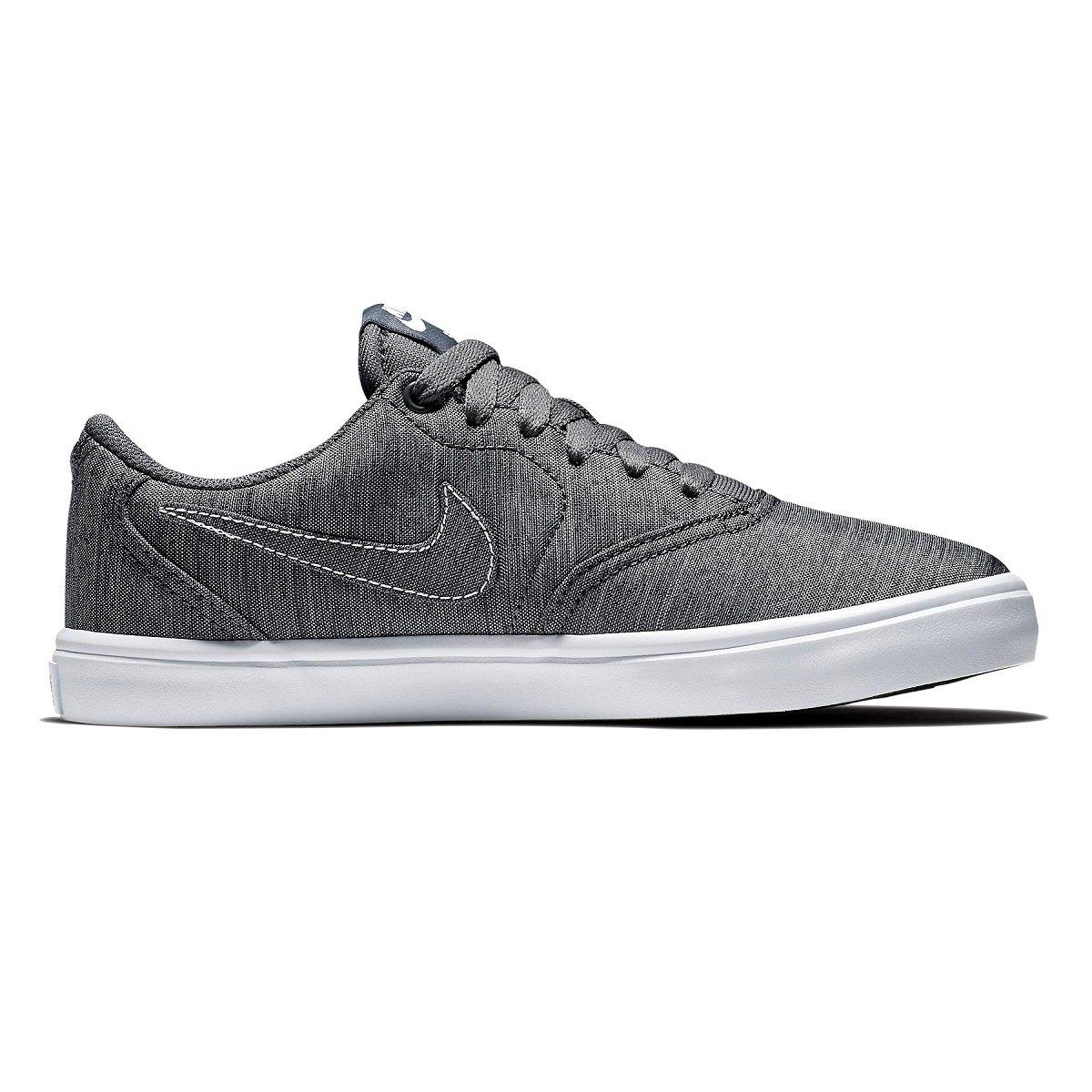 Tênis Feminino Nike SB Check Solar Canvas Premium 921464-004 - Cinza ... 8632ef66a4e59
