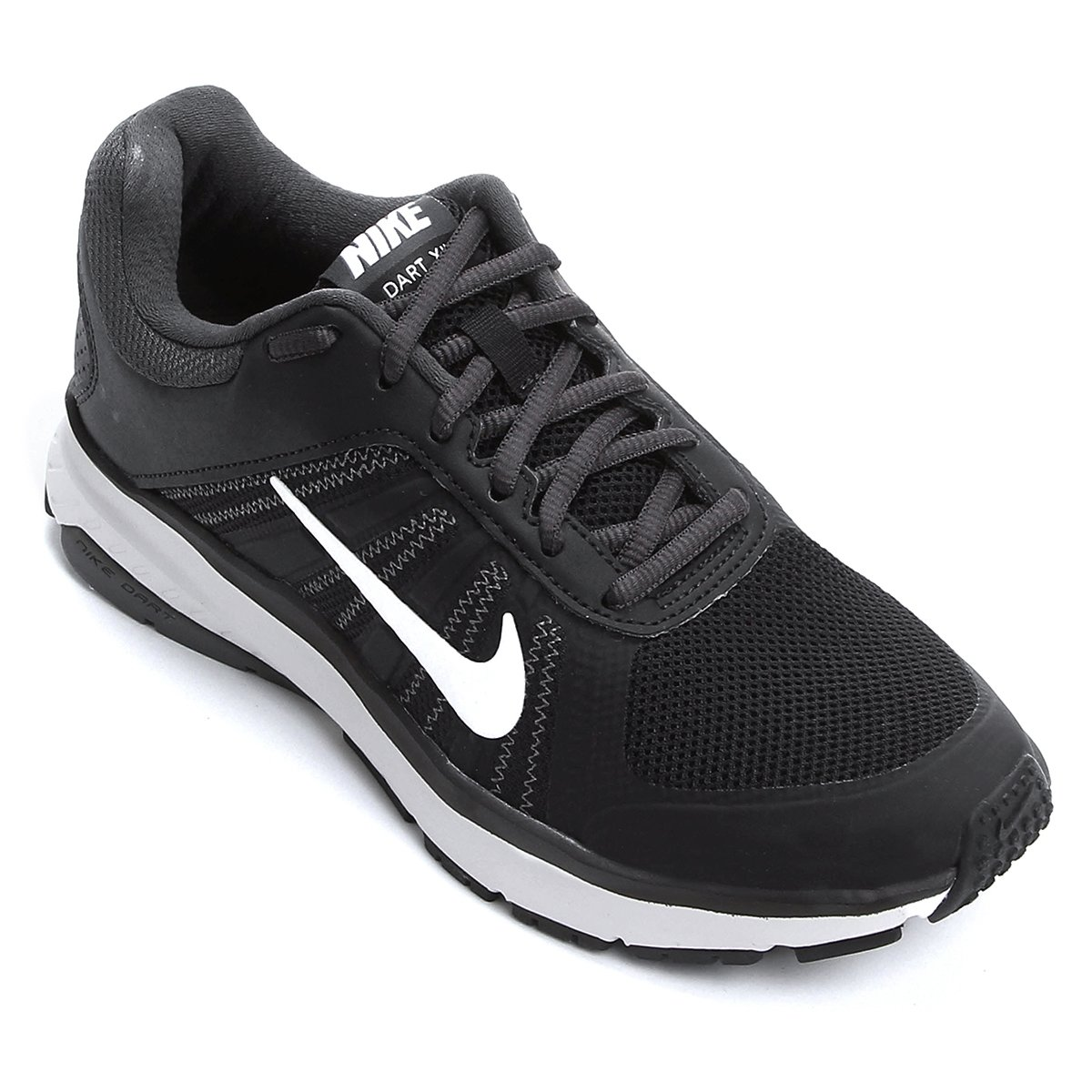 f4710d7508 Tênis Feminino Nike Wmns Dart 12 Msl 831539-001 - Black White ...