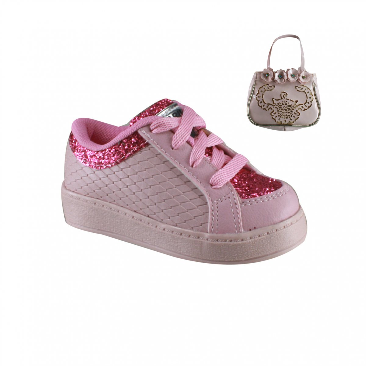 38971b91ec7 Tênis Infantil Brink (Com Brinde) 59.501 2905 - Rose Pink - Calçados ...