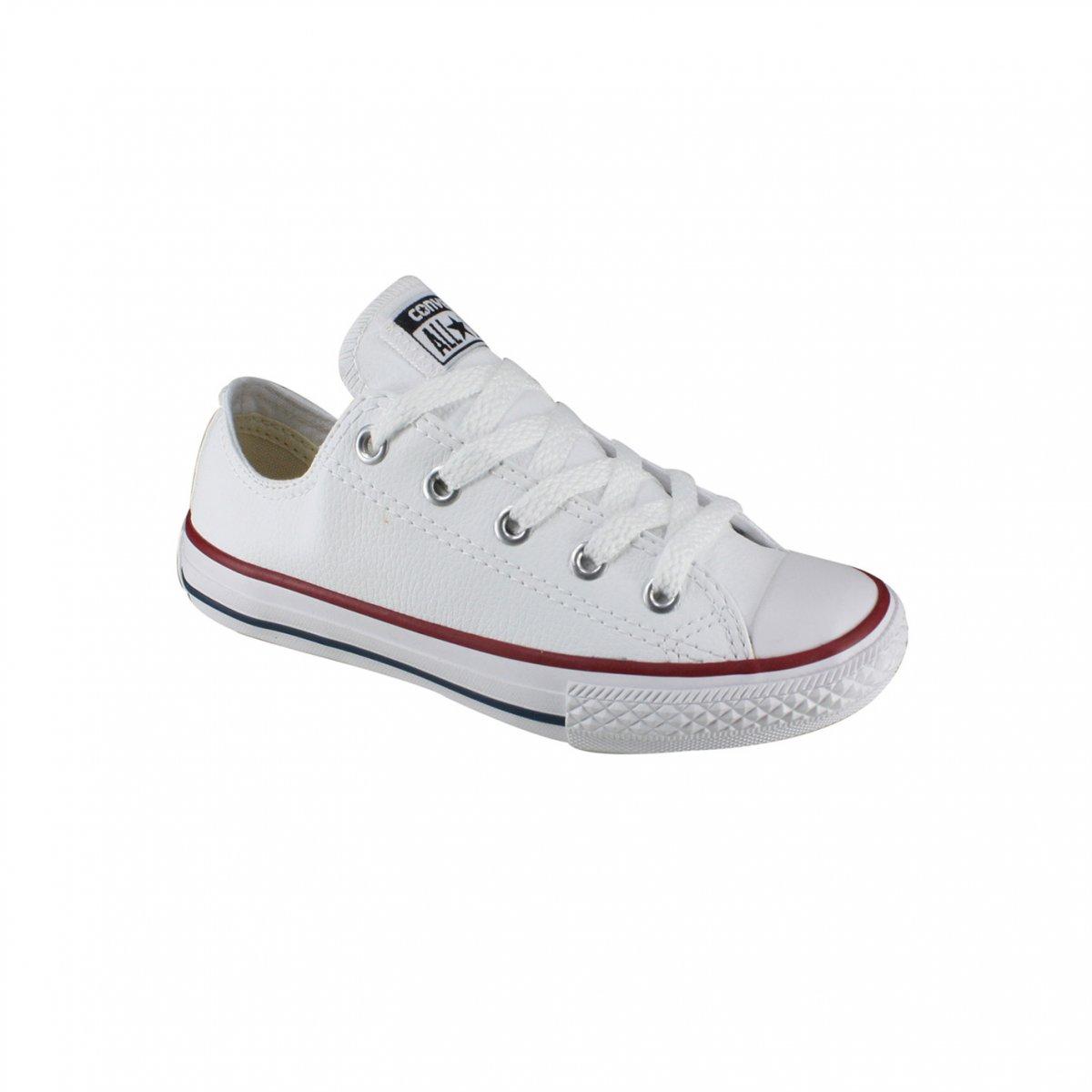 8b40018afca Tênis Infantil Converse - All Star CK0420 0001 - Branco - Calçados ...