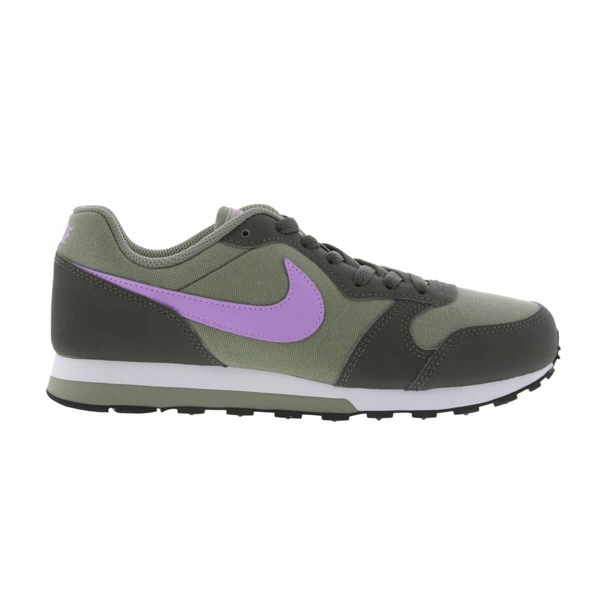 d98abf65c68 Tênis Infantil Nike MD Runner 2 (GS) 807319-015 - Cinza Rosa ...