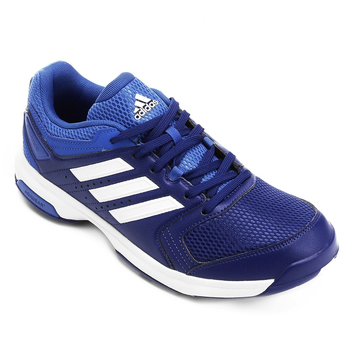 e8af21374 Tênis Masculino Adidas Essence BY2448 Azul Branco