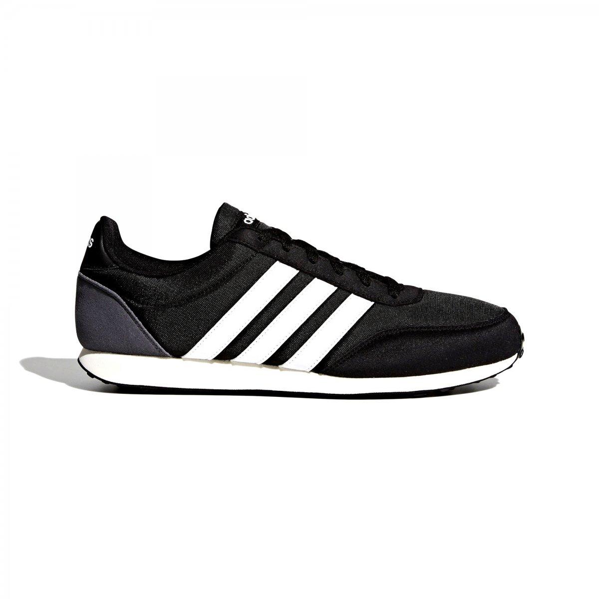 Tênis Masculino Adidas V Racer 2 BC0106 Preto Branco 3298229fc40