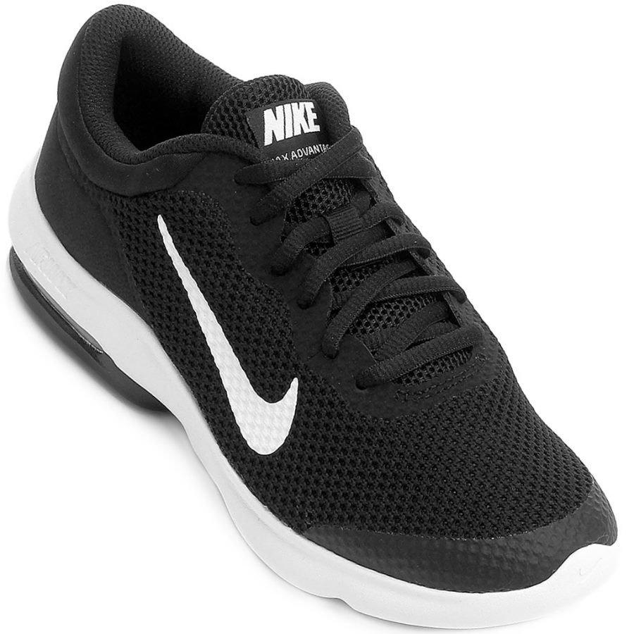 3c724d34aa Tênis Masculino Nike Air Max Advantage 908981-001 - Preto - Calçados ...