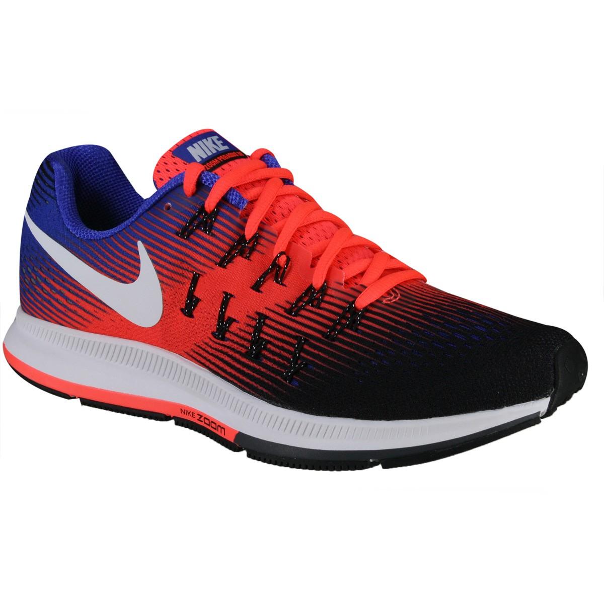 93e83bc7335 Tênis Masculino Nike Air Zoom Pegasus 33 831352-010 Preto Azul Laranja