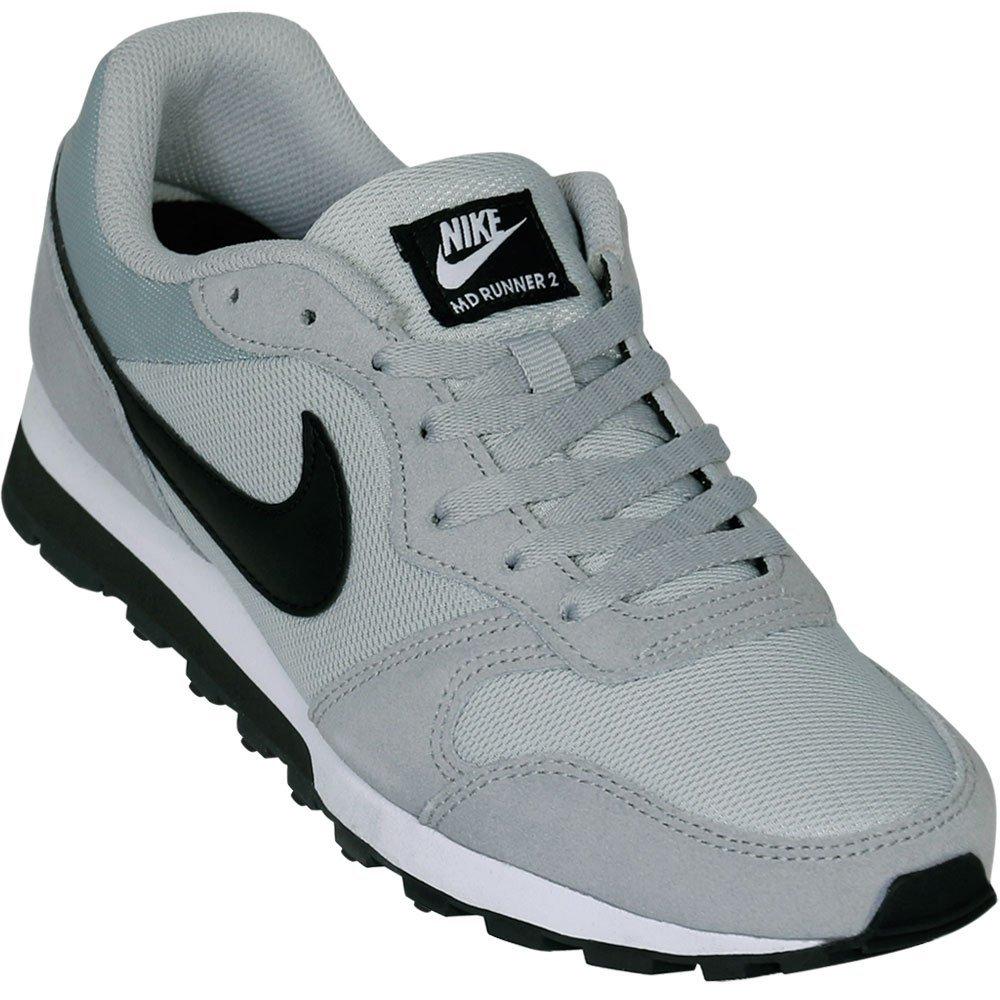 Tênis Masculino Nike MD Runner 2 749794-001 - Cinza Preto - Calçados ... fe5bf1444d8d9