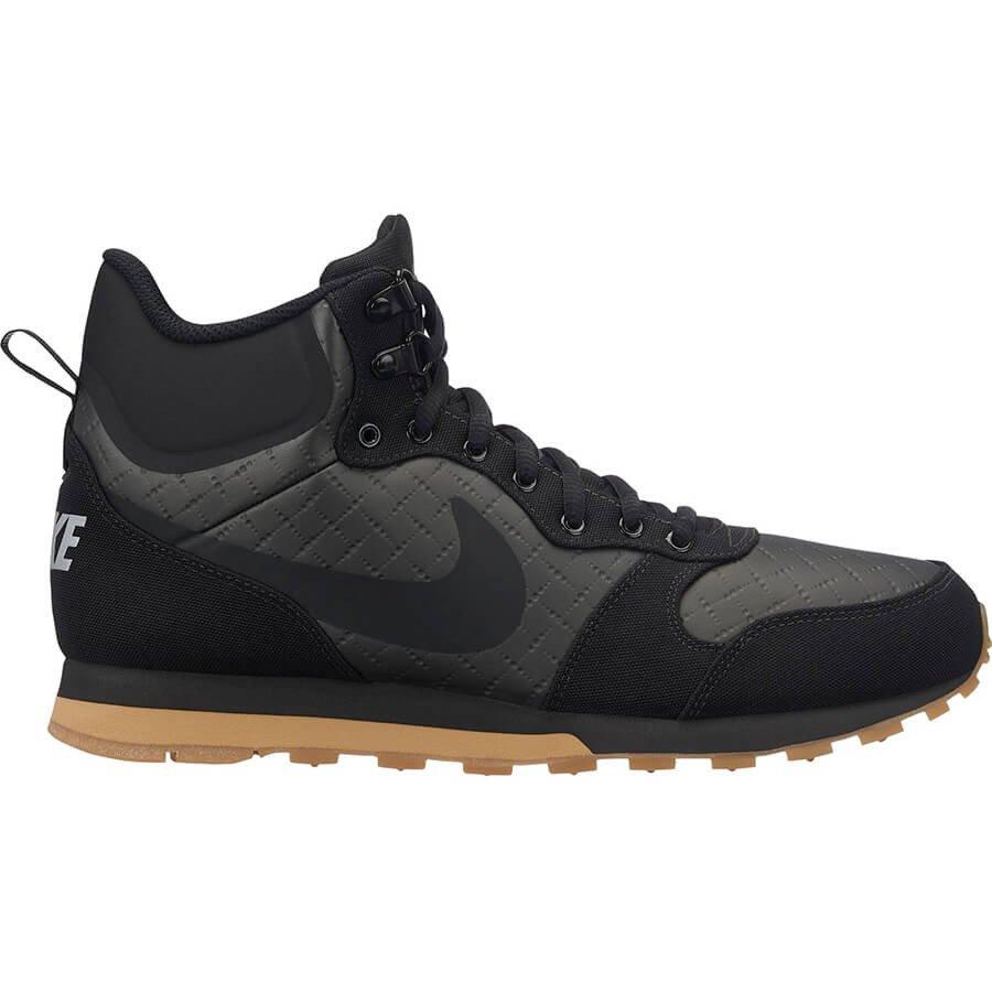 Tênis Masculino Nike MD Runner 2 Mid Prem 844864-006 - Preto ... 8df14e4a103fd