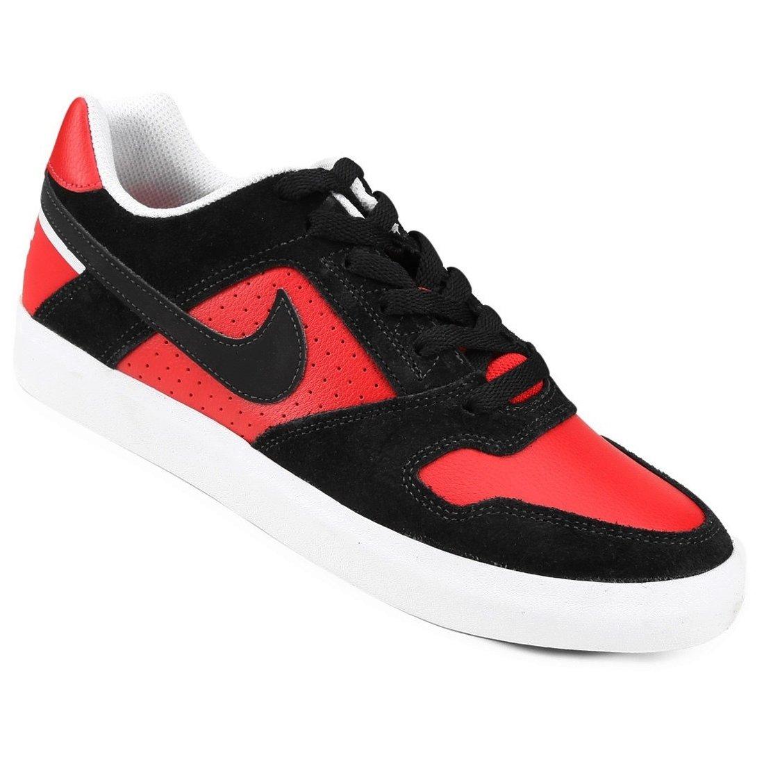 d1c20a9f044 Tênis Masculino Nike SB Delta Force Vulc 942237-006 - Preto Vermelho ...