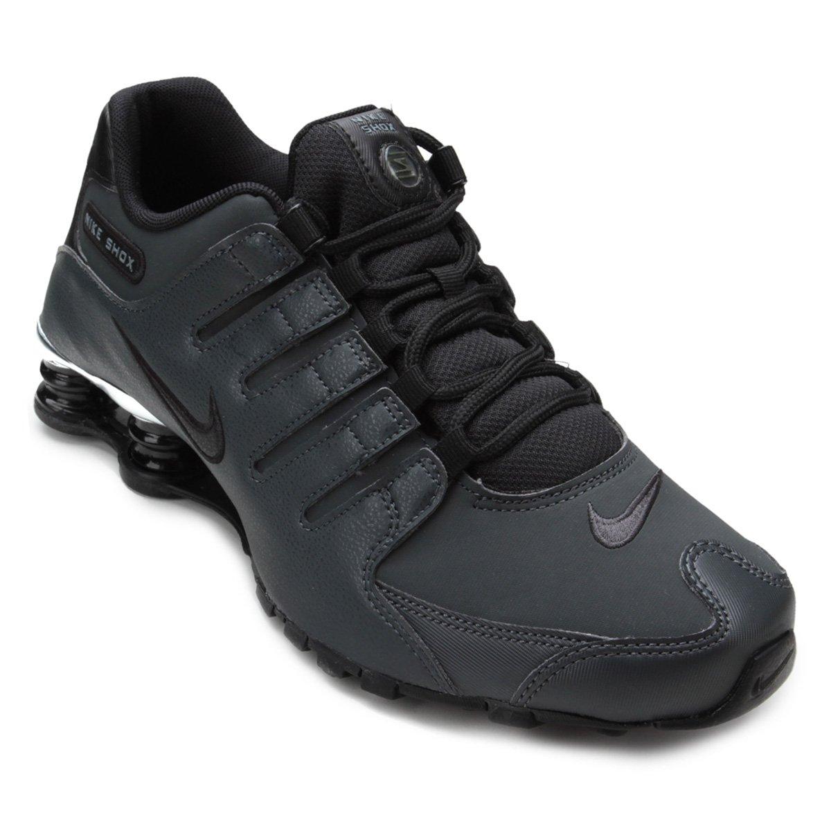 2d929a1f8f6 Tênis Masculino Nike Shox NZ PRM 536184-003 - Chumbo Preto ...