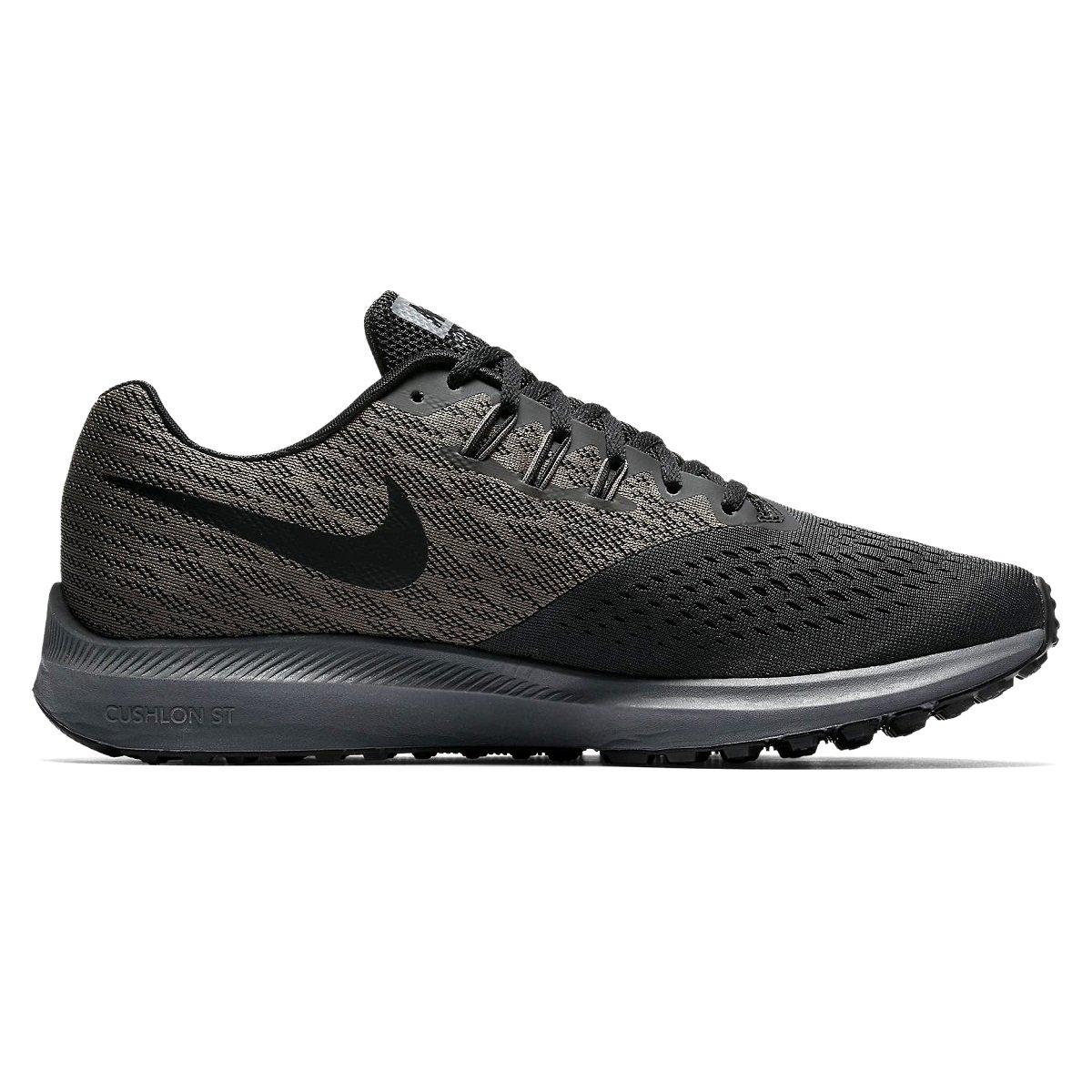 ea40c2519a1 Tênis Masculino Nike Zoom Winflo 4 898466-007 - Cinza Escuro ...