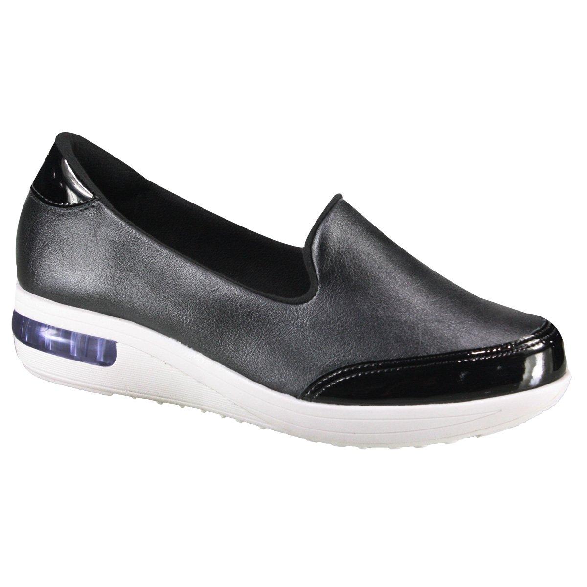 4c6360061 Tênis Modare Ultraconforto 7320.101 16708 15745 - Preto (Napa  Cristalina/Verniz) - Calçados Online Sandálias, Sapatos e Botas Femininas |  Katy.com.br
