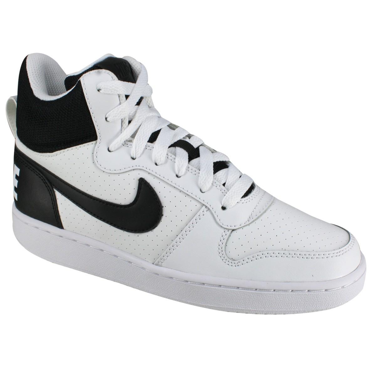 896b9f6f7 Tênis Nike Court Borough 838938-100 - Branco Preto - Calçados Online ...