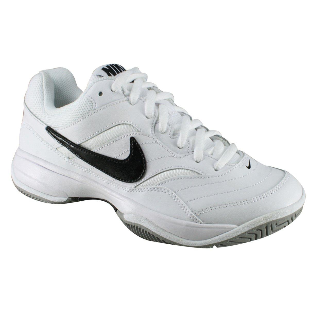 Tênis Nike Court Lite 845021-100 - Branco Preto - Calçados Online ... bae7a226ffa50