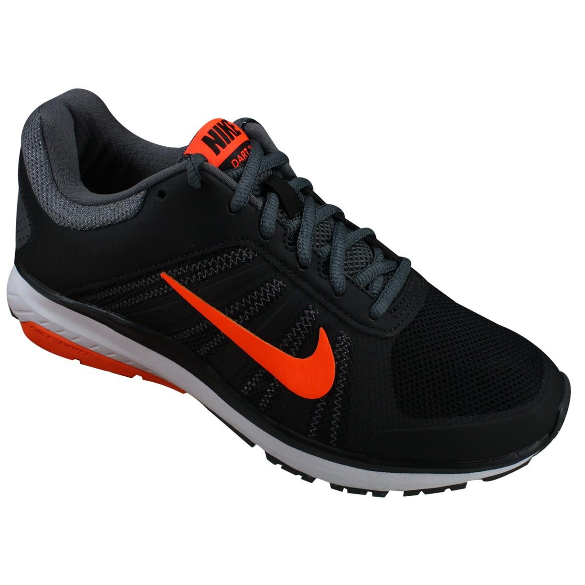 350e2031a4 Tênis Nike Dart 12 MSL 831533-009 - Preto Laranja - Calçados Online ...