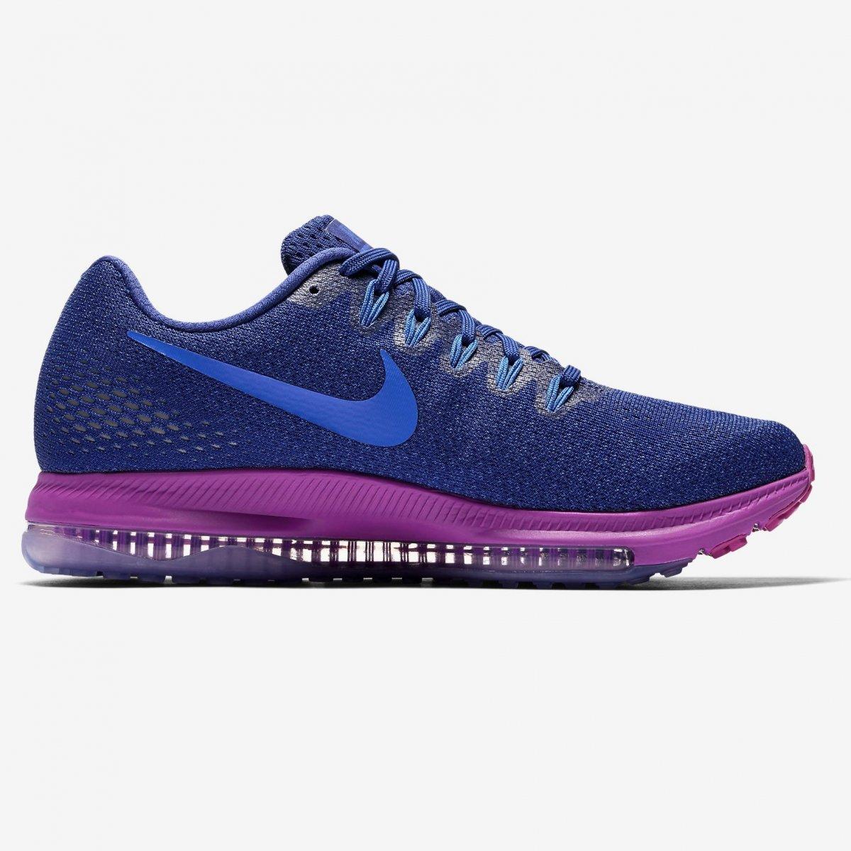 8e02c179e3 Tênis Nike Zoom All Out Low 878671-404 - Marinho Roxo - Calçados ...