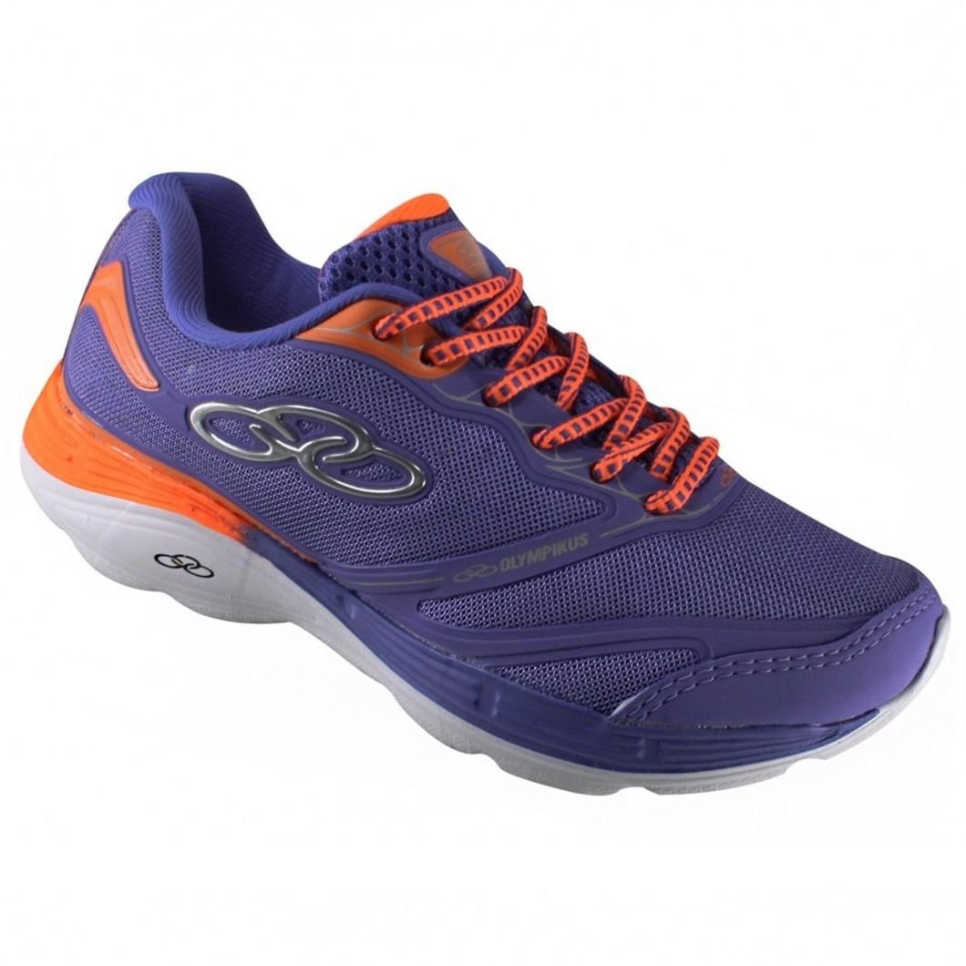 cc6698c51e4 Tênis Olympikus Motion 139 - Purple Laranja - Calçados Online ...