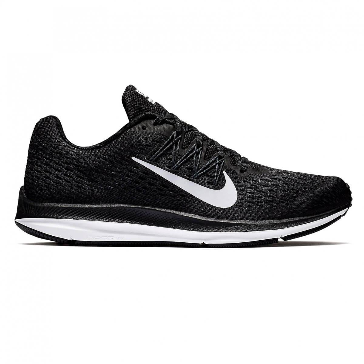 6c4896ada8 Tênis Running Masculino Nike Zoom Winflo 5 AA7406-001 - Preto Branco ...